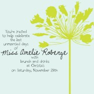 Amelie Wedding Shower Invite